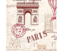 Ткань Прогулка по Парижу (основной)