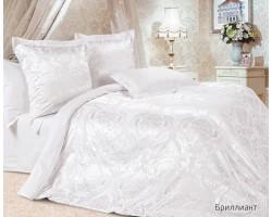 Комплект Бриллиант 2,0 спальный с евро простыней