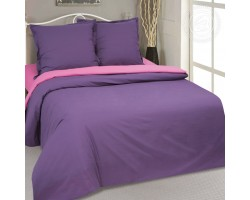 Комплект Фиалка 2,0 спальный с евро простыней