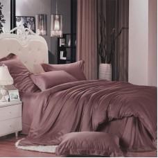 Комплект Сливовый  2,0 спальный с евро простыней