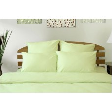 Комплект Салатовый 2,0 спальный с евро простыней
