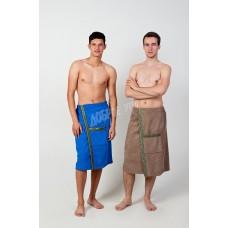 Полотенце-накидка махровая (килт)