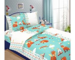 Комплект Лисята 1,5 спальный