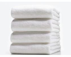 Полотенце махровое белое 70х140