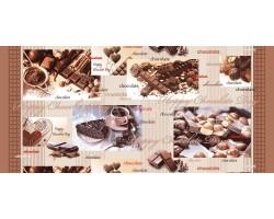 Полотенце банное шоколад