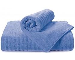 Полотенце Волна синий 50x90