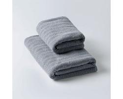 Полотенце Токио темно-серый 50x90