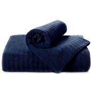 Полотенце Волна темно-синий 50x90