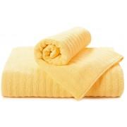 Полотенце Волна желтый 50x90