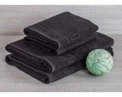 Полотенце махровое Черное 70х140