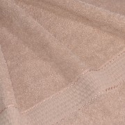 Полотенце махровое бежевое