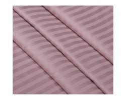 Ткань Страйп-сатин Розовый зефир
