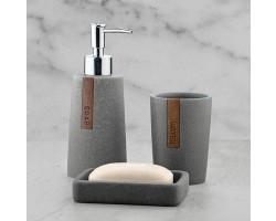 Набор для ванной комнаты №31 Серый