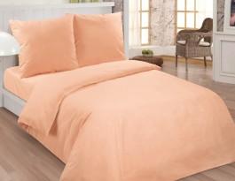 Комплект Персик 2,0 спальный с евро простыней