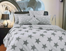 Комплект Орион 2,0 спальный с евро простыней