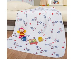 Детское одеяло-покрывало Кнопочка