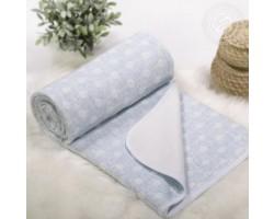 Детское одеяло-покрывало Ожерелье голубое