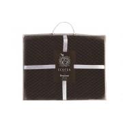Плед Elegance коричневый 200x220