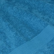 Полотенце махровое дымчато-синее