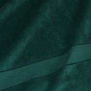 Полотенце махровое темно-зеленое