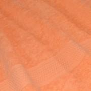 Полотенце махровое персиковое