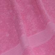 Полотенце махровое ярко-розовое