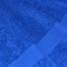 Полотенце махровое ярко-синее