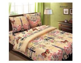 Комплект Бонжур 2,0 спальный с евро простыней