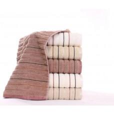 Полотенце махровое Полоса 70x140