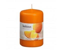 Ароматизированная свеча 8х6 см Апельсин