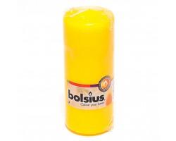 Свеча 15х6 см желтая