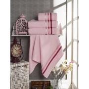 Полотенце махровое Вивьен розовое