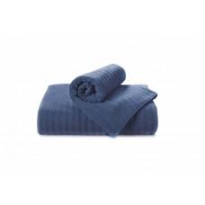Полотенце Волна темно-синий